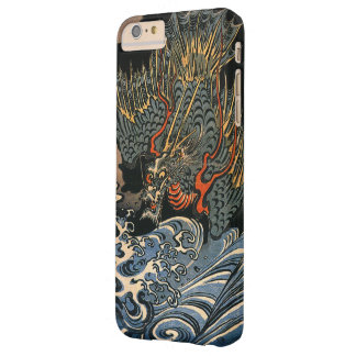 Dragón en el mar funda para iPhone 6 plus barely there