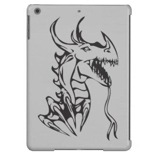 Dragón en la plata funda para iPad air
