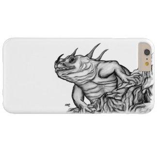 Dragón en la roca funda para iPhone 6 plus barely there