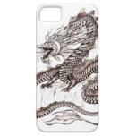 Dragón en un acantilado iPhone 5 Case-Mate protectores