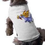 Dragón en vuelo camisetas mascota