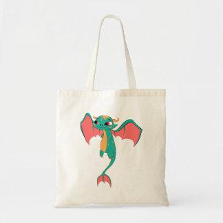 Dragón en vuelo, criatura mágica bolsa