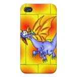 Dragón en vuelo iPhone 4/4S carcasas