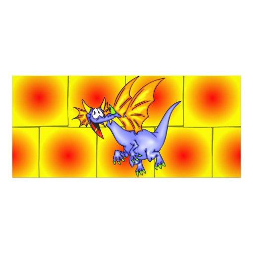 Dragón en vuelo lonas