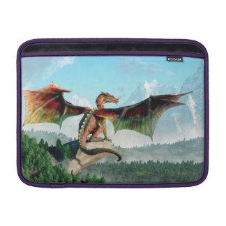 Dragón encaramado funda para macbook air