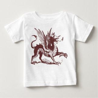 Dragon Engraving - Dark Brown Shirt