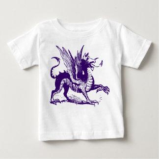 Dragon Engraving - Deep Purple Shirt