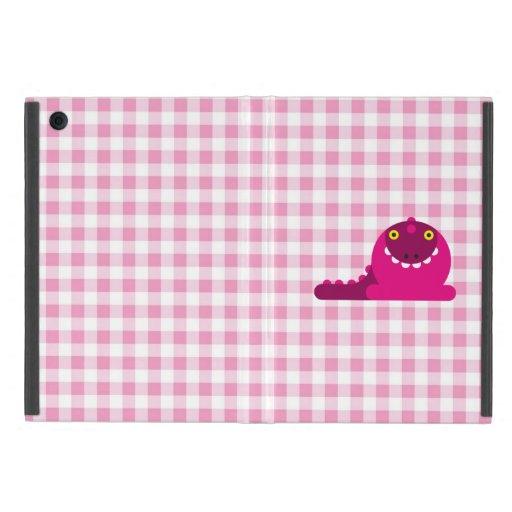 Dragón enojado rosado iPad mini carcasas