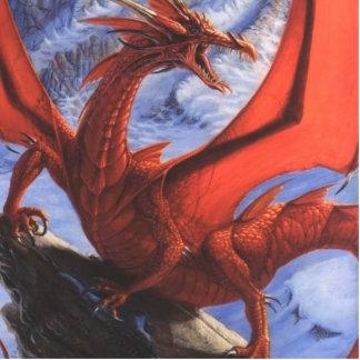 Dragón Llavero Fotográfico