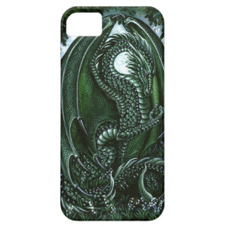 Dragón esmeralda Barely There iPhone 5 Carcasas