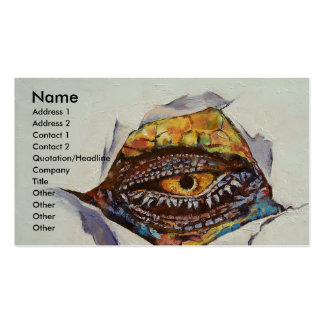 Dragon Eye Double-Sided Standard Business Cards (Pack Of 100)