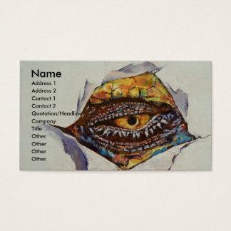 Dragon Eye Business Card