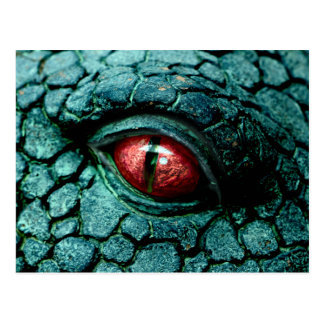 Dragon Eye Fantasy Gothic Postcard