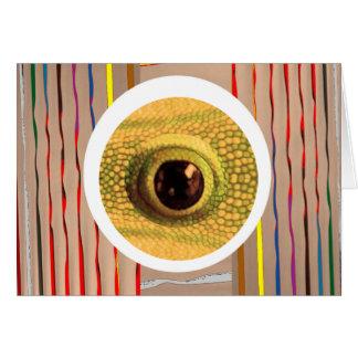 DRAGON Eye : GoodLuck Chinese Symbol Greeting Card