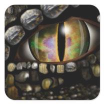 Dragon Eye Square Sticker