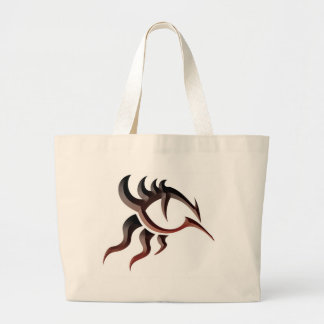 Dragon Eye Tat Large Tote Bag