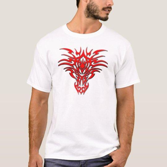Dragon Face Tattoo C T-Shirt