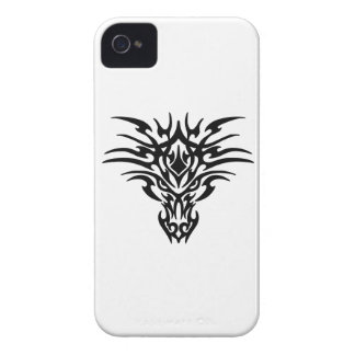 Dragon Face Tattoo Case-Mate iPhone 4 Cases
