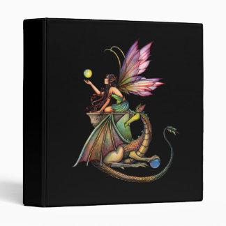 Dragon Fairy Binder by Molly Harrison