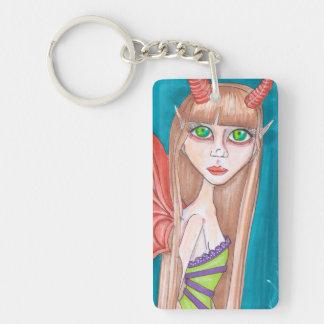 Dragon Fairy Keychain
