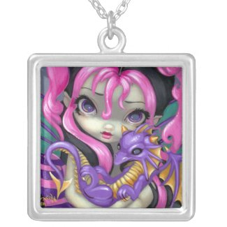 Dragon Fairy NECKLACE Faces of Faery 142 necklace