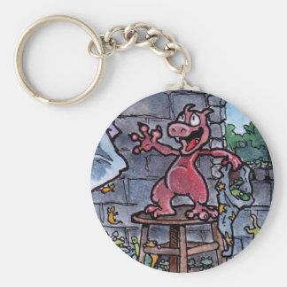 Dragon Familiar Keychain
