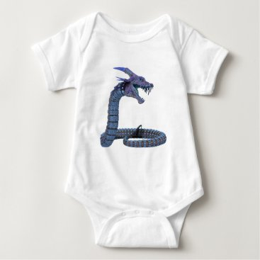 Halloween Themed Dragon Fantasy Art Baby Bodysuit
