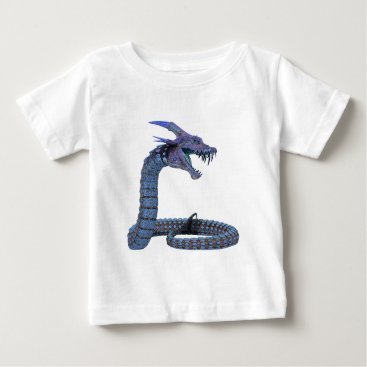 Halloween Themed Dragon Fantasy Art Baby T-Shirt