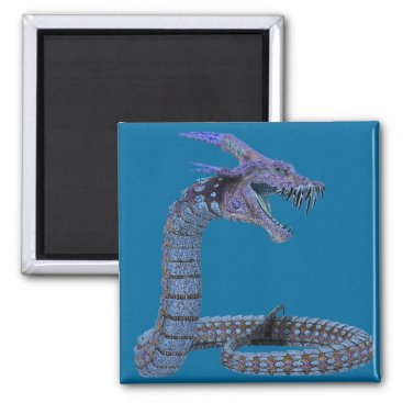 Halloween Themed Dragon Fantasy Art Magnet