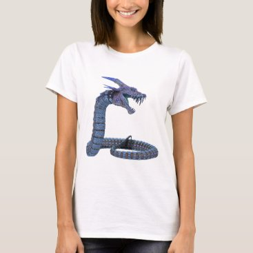 Halloween Themed Dragon Fantasy Art T-Shirt