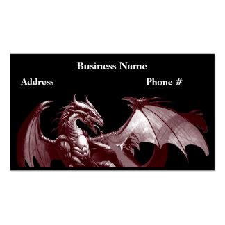 Dragon Fantasy Calendar Business Cards