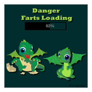 Dragon Farts Poster