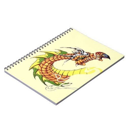 Dragón feroz note book