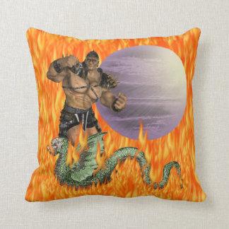Dragon Fighter American MoJo Pillow