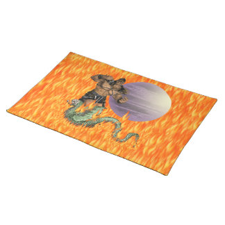 Dragon Fighter American MoJo Placemat