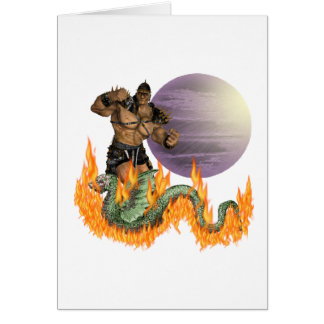 Dragon Fighter Card