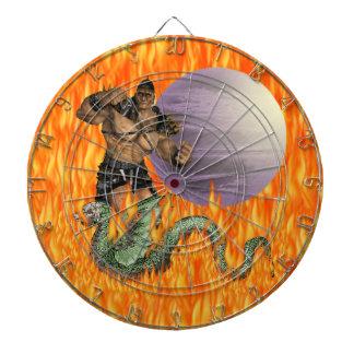 Dragon Fighter Dartboard