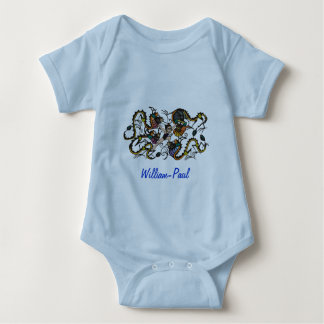Dragon Fighter Fighting Dragons Baby Bodysuit