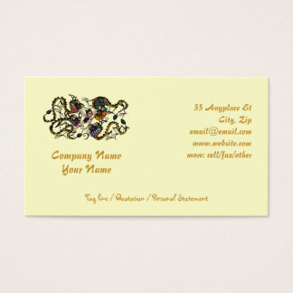Dragon Fighter Fighting Dragons Business Card