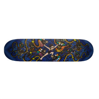 Dragon Fighter Fighting Dragons Skateboard Deck