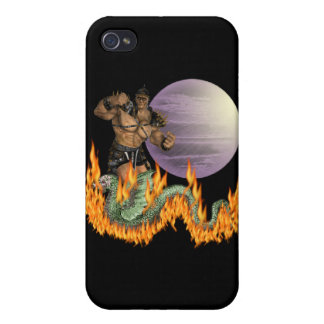 Dragon Fighter iPhone 4/4S Cover