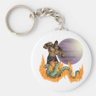 Dragon Fighter Keychain
