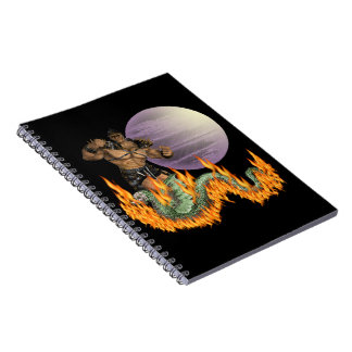Dragon Fighter Notebook