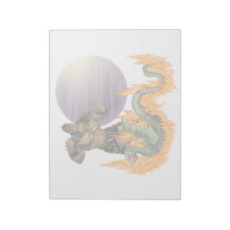 Dragon Fighter Notepad (2) sizes