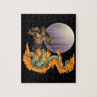 Dragon Fighter Puzzle (2) sizes