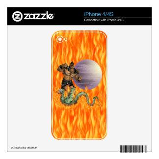 Dragon Fighter Zazzle Skin