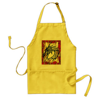 DRAGON FIRE ADULT APRON