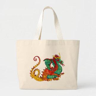 Dragon Fire Tote Bag