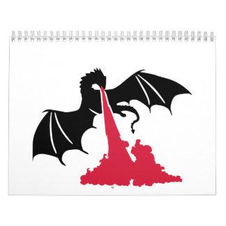 Dragon fire calendar