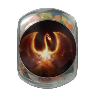Dragon fire jelly belly candy jar
